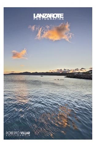 Atardecer desde el Muelle -Puerto del Carmen-