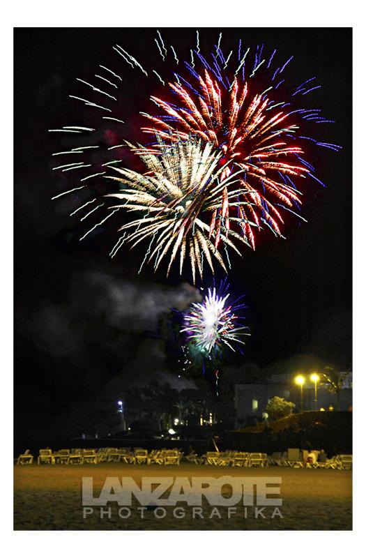 Fuegos de Clausura de las Fiestas Ntra. Señora del Carmen