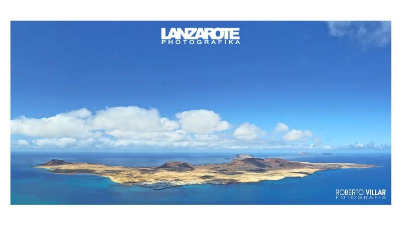 Panorámica Isla de La Graciosa