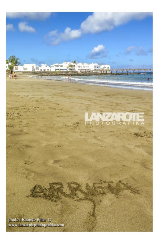 Playa de La Garita - Arrieta - Lanzarote
